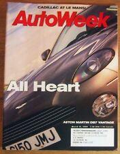 AUTOWEEK 1999 MAR 15 - ASTON DB7, BMW 323i, ROVER 75