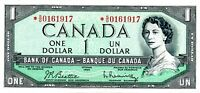 Canada ... P-75b ... 1 Dollar  ... L.1954 ... *VF*  Replacement.