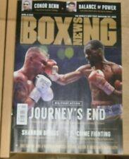 Boxing News magazine 8th Apr 2021 Frampton goes down in Dubai + Conor Benn &more