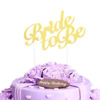 Wedding Favors Party Supplies Bride To Be Insert Card Stick Cake Topper Decor