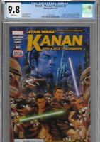 Kanan 1 CGC 9.8 Star Wars Rebels 1st Sabine Wren Ezra Bridger Hera Zeb Chopper