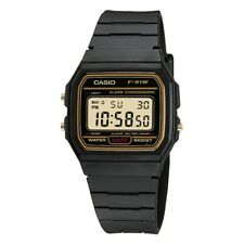 Casio Digital Watch LCD with Chrono Stopwatch Timer Alarm Light etc F-91WG-9QEF