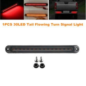 1PCS 30LED Truck Strip Tailgate Light Bar Brake Tail Flowing Turn Signal Lamp