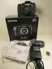 Fujifilm X-T1 16.3MP Digitalkamera - Schwarz Gehäuse Body