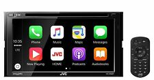 NEW JVC KW-V830BT 2 DIN DVD/CD Player CarPlay Android Auto Bluetooth SiriusXM