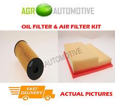 PETROL SERVICE KIT OIL AIR FILTER FOR MERCEDES-BENZ CLK200 2.0 163 BHP 2000-02