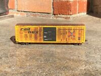 Athearn RTR HO 50' FMC 5347 boxcar, Railbox #43689, Weathered