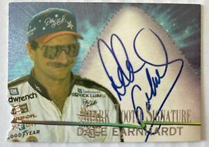 1997 Wheels  DALE EARNHARDT  Shark Tooth Signature First Bite Autograph # 29/300