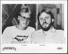 ~ America Original 1980s Capitol Records Promo Photo Dewey Bunnell Beckley
