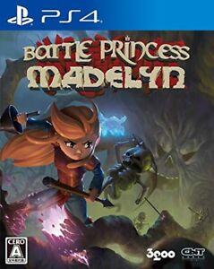 New PS4 Battle Princess Madelyn Japan PLJM-16301 4589857090076