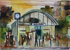 JagerstraBe Station Vienna