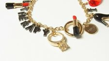 "SALE BNIB Thai designer label DISAYA ""I Need Retail Therapy"" Charm Bracelet Fob"