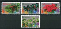 Bahamas 2017 MNH Christmas Holly Ivy Poinsettia 4v Set Plants Flowers Stamps