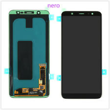 Per Samsung Galaxy A6 Plus 2018 A605 Display LCD Touch Screen Digitizer Nero New