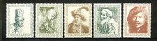 Nederland  671 - 675 ongebruikt (1)  Rembrandt