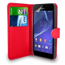 for Apple iPhone 5 & 5s Premium Leather Magnetic Flip Wallet Case Cover Red