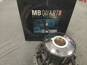 """BRAND NEW OLD SCHOOL 12"""" MB QUART PWE302 MADE IN USA BY ROCKFORD FOSGATE"""
