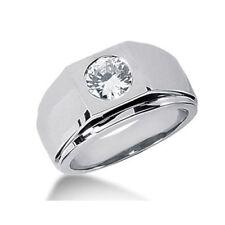 Brillant Diamant Ring Herren 0.50 Ct. D IF GIA zertifiziert 585 oder 750 Gold