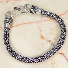 Designer & 925 Silver Handmade Fashionable Bracelet 190mm DD8-1541 & gift box