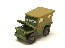 Disney Pixar Cars Precision SARGE with open hood 1/55 Diecast