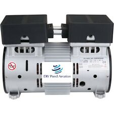 New 1 Hp 120 Psi Lake Amp Fish Pond Aerator 3cfm Compressor Pump 110v 60hz