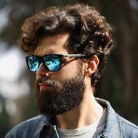 New Polarized Mens Retro Vintage Aluminum Aviator Sunglasses Eyewear Eye Glasses
