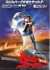 Back To The Future(1985) Japanese Movie Chirashi flyer(mini poster)