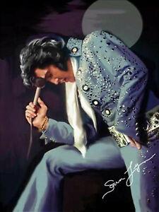 Elvis Presley Moon Music 5D Full drill Diamond Painting Embroidery Decor N7105