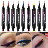 Winged Eyeliner Stamp Waterproof Makeup Cosmetic Eye Liner Pencil Liquid Bunt