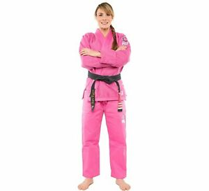 Fuji Womens All Around Brazilian Jiu-Jitsu BJJ Gi - Pink