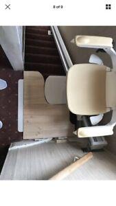 Stairlift Acorn Slimline 130 Platform Lift, installed, with 1 year warranty