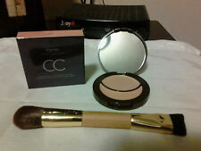 Tarte Colored Clay CC Concealer & Corrector FAIR & Double End Brush W/Receipt