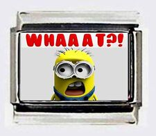 WHAT MINION Italian photo 9mm Charms DESPICABLE ME for modular bracelets