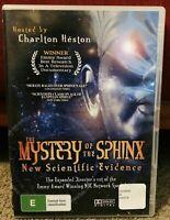 The Mystery Of The Sphinx DVD Charlton Heston Egyptian Egypt Documentary Doco