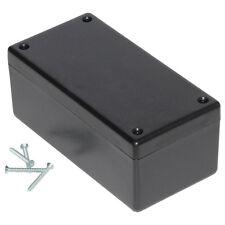 ABS Enclosure Heavy Duty Hammond 131x66x55mm Black Electronics Project Case Box