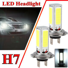2pcs H7 LED Headlight Bulbs Conversion Kit High Low Beam 80W 4000LM 6000K White
