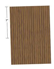 "1/4"" Scale Dollhouse Faux Hardwood Flooring 6"" x 10"" (1:48)"