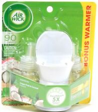 Air Wick Dragon Fruit & Coconut Natural Essential Oil 1 Warmer & 2 Refills