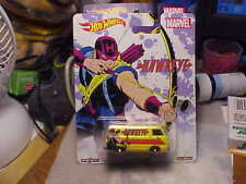 Hot Wheels Hawkeye '66 Dodge A100 with Real Riders