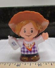 Fisher Price Little People Farmer Melodee Pony Bottle Feed Farm New Style Part