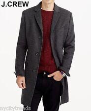 New J.CREW 38S Ludlow wool-cashmere coat topcoat overcoat grey gray M 38 S NWT