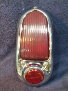 1949 Chevy Chevrolet ~ Original Right Tail Light Assembly ~ Guide R-19