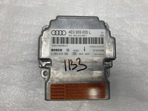 OEM AUDI BOSCH A8 S8 08-10 SRS AIR BAG RESTRAINT MODULE #4E0959655L *TESTED*