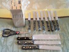 12 Piece Knife Block Set