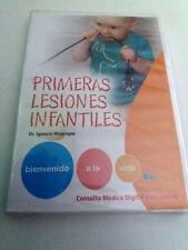 """DVD """"PRIMERAS LESIONES INFANTILES"""" PRECINTADO SEALED CONSULTA MEDICA DIGITAL"""