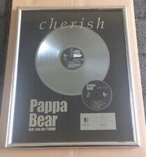 Pappa Bear - cherish - Platin Award ( goldene Schallplatte ) VIVA - Booya Music