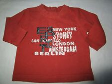 Boys Esprit long sleeve tee  Size 000 for 3mths of age