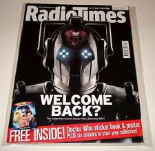 RADIO TIMES TV Magazine 13 May 2006  DOCTOR WHO CYBERMAN Cover + BOOK