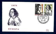 BELGIUM - BELGIO - 1975 - BUSTA - FDC - EUROPA: quadri