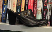 Frye  Clogs US size: 7 M Black  leather Hasbeens  preowned